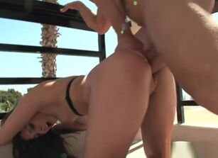 Gracie glam threesome